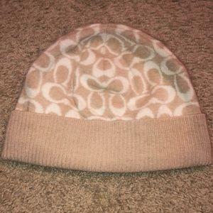 Vintage Coach Beanie Hat